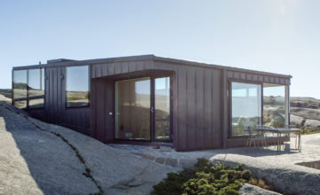 Arkitektritat hus på Gåsö